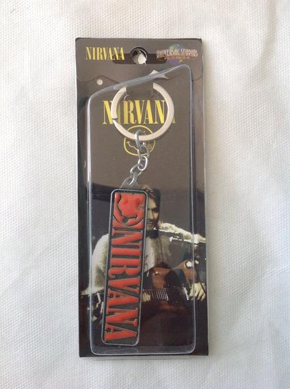 Nirvana - Chaveiro Produto Original E Importado