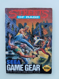 Streets Ot Rage Manual Geme Gear - Frete Grátis