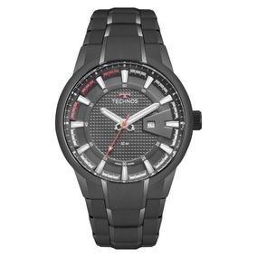 Relógio Technos Preto Masculino Racer 2117law/4p Com Nf