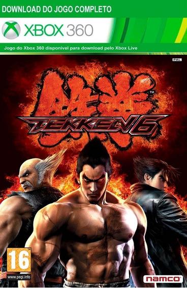 Tekken 6 Xbox One I Xbox 360 Código De 25 Dígitos