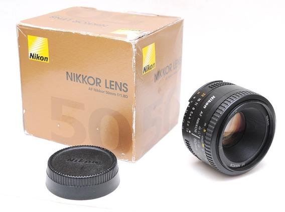 Nikon Af 50mm F/1.8d P/ D90 D300 D7000 D800 D7100 D7200 D750