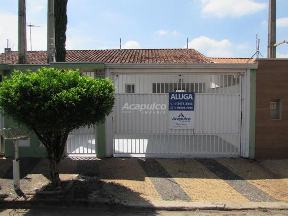 Casa Para Aluguel, 2 Quartos, 3 Vagas, Vila Omar - Americana/sp - 4456