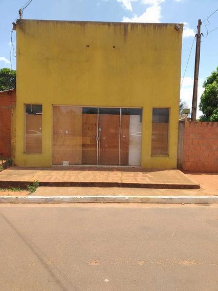 1 Salão Com Meia Agua Em Frente Escola Farinon
