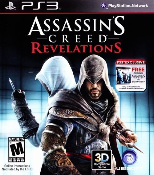 Jogo Ps3 Assassins Creed Revelations Ps3 - Original Lacrado