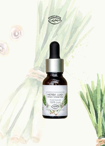 Aceite Esencial Natural Hierba Luisa 15ml Amazon-aroma