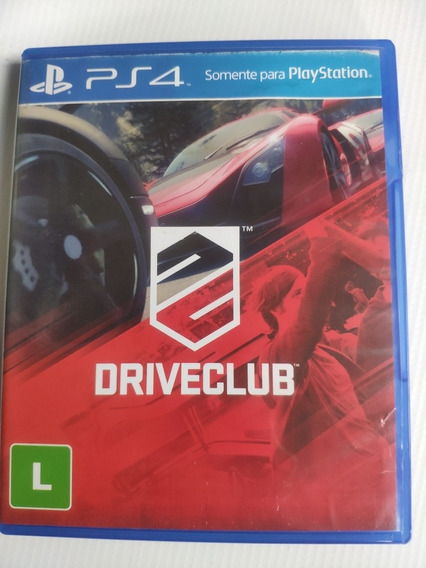 Drive Club Ps4 Midia Física Semi Novo Original