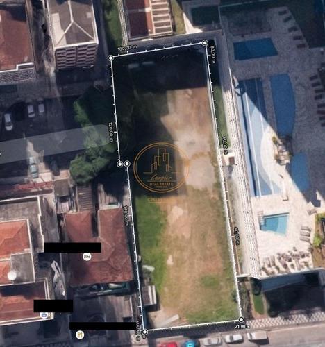 Terreno  Localizado(a) No Bairro José Menino Em Santos / Santos  - 6748