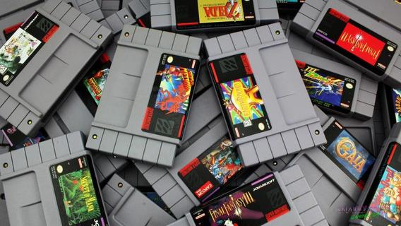 768 Jogos Oficiais Roms De Super Nintendo + Emulador
