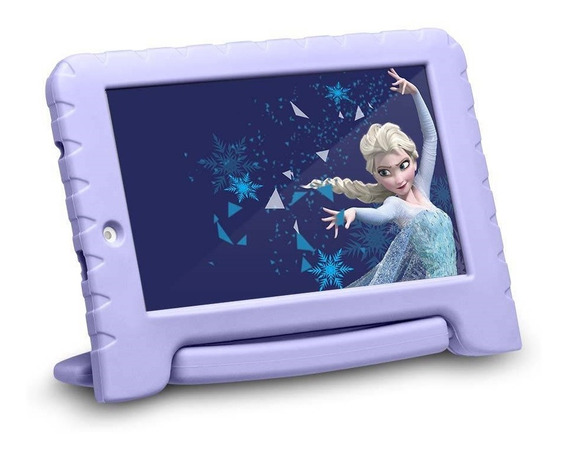 Tablet Multilaser Disney Frozen Plus 7 16gb Nb315 - Lilás