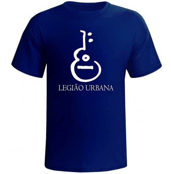 Camisa Estampada Banda Rock Legião Urbana Camiseta