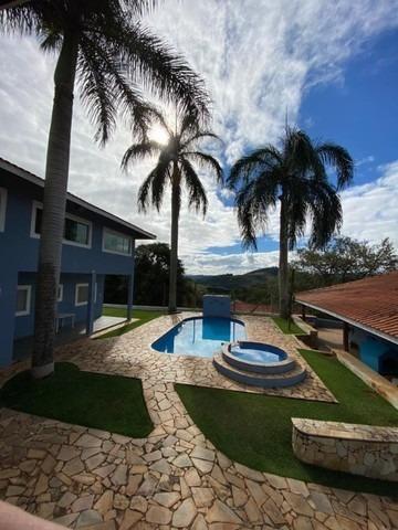 Imagem 1 de 14 de Chácara Urbana 5 Dorms 1 Ste Piscina Cond. Portal Das Rosas