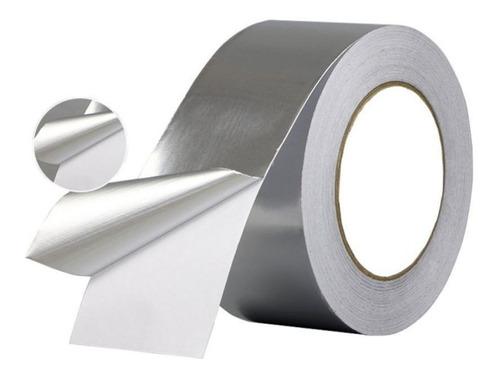 Imagen 1 de 2 de Cinta De Aluminio Para Apantallar, Adhesivo Conductor