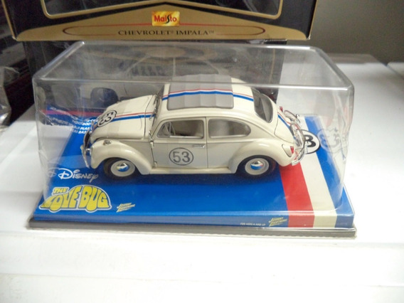 Encomenda 1/18 Herbie The Love Bug Vw 1963 Johnny Lightning