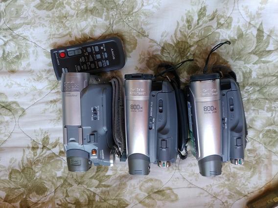 (retirada De Peças) 3 Filmadoras Sony Mini Dv