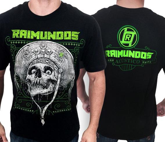Camiseta Banda Raimundos - Acústico - Consulado Do Rock