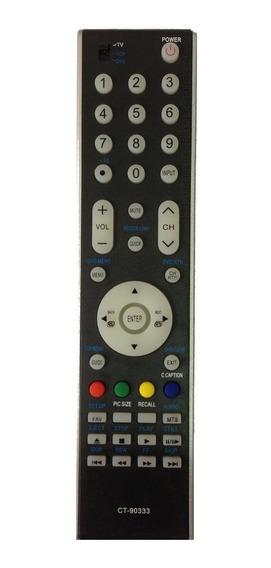 Controle Remoto Tv Lcd Led Semp Toshiba Ct-90333 Sky7925 Nov
