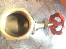 Llave De Paso De 2 Pulgada 100% Bronce