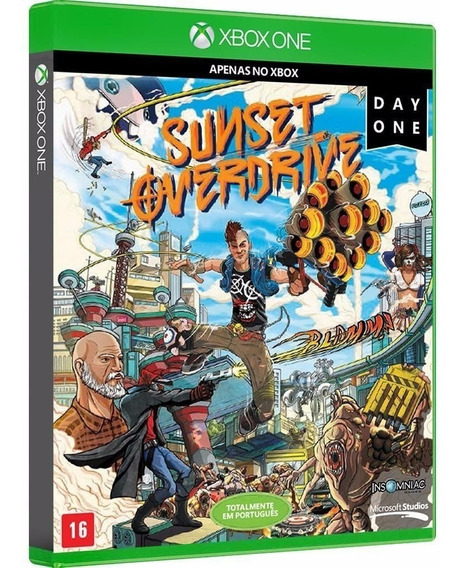 Sunset Overdrive - Jogo P/ Xbox One Original - Midia Fisica