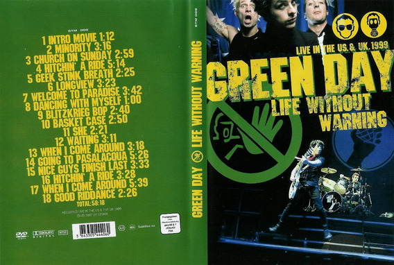 Green Day - Life Without Warning Dvd - E