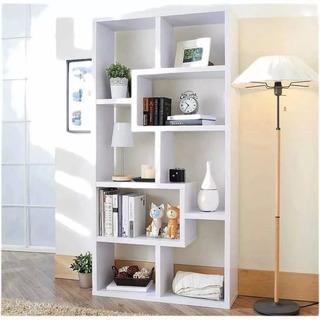Biblioteca - Repisas Estantes- Divisor Ambientes Minimalista