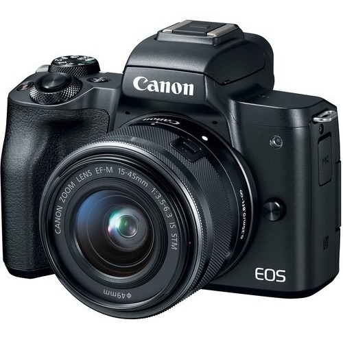 Canon Eos M50 +15-45mm Is Stm Com Nota Fiscal