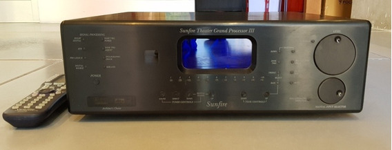 Sunfire Theater Grand Processor Iii Rotel Nad Processador