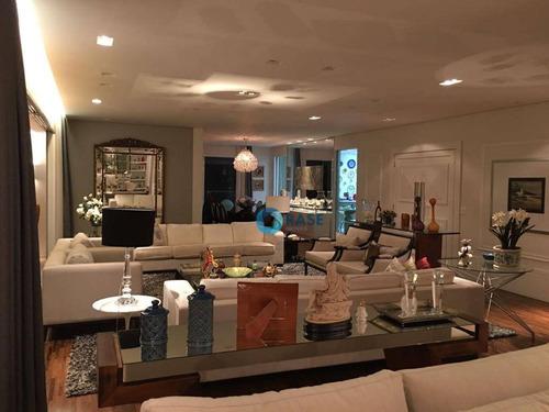 Apartamento À Venda, 386 M² Por R$ 6.800.000,00 - Campo Belo - São Paulo/sp - Ap9403