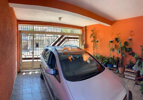 Imagem 1 de 21 de Sobrado À Venda, 160 M² Por R$ 485.000,00 - Jardim Adriana - Guarulhos/sp - So0826