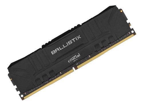 Memória Crucial Ballistix 8gb 2666mhz Ddr4 Bl8g26c16u4b