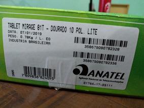 Tablet Mirage 81t 8gb, Quadcore, 10