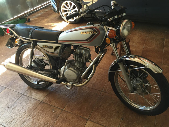 Honda Ml 125 Prata 1982