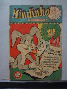 Hq Mindinho Nº 11 Revista Infantil 1949 Pernalonga