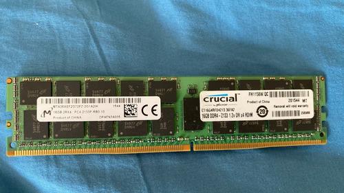 Kit Memoria Hp G10 Dell Servidor 128gb 8x16gb Ct16g4rfd4213