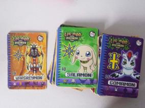 Lote De 9 Cards Digimon Elma Chips