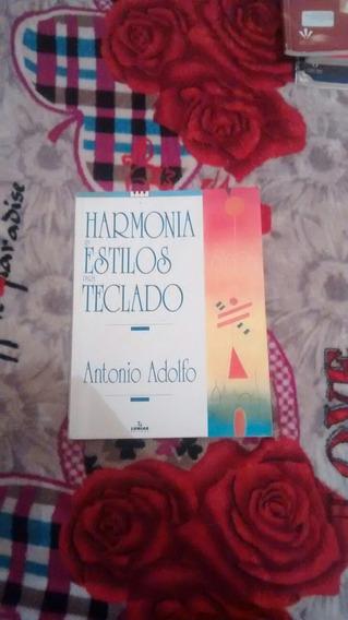 Livro Harmonia Estilo Para Teclado