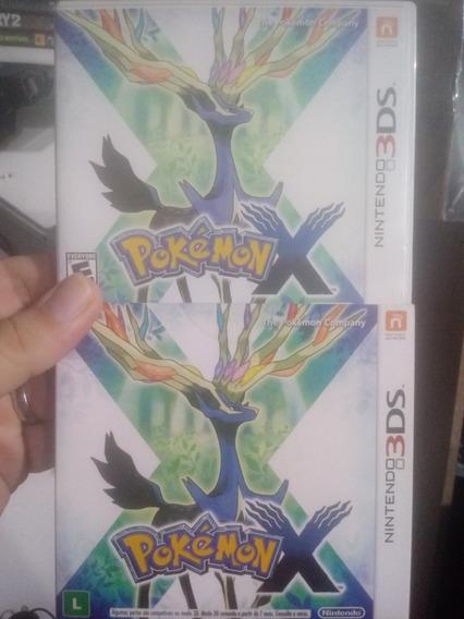 Pokémon X Nintendo 3ds Semi Novo Com Box