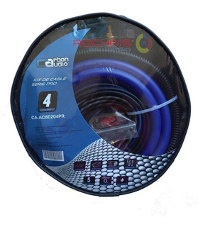 Kit De Instalacion Carbon Audio Calibre #4