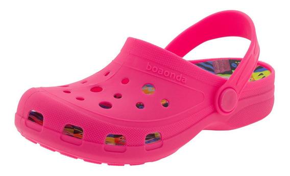 Clog Infantil Fantasy Boaonda - 1402 Pink