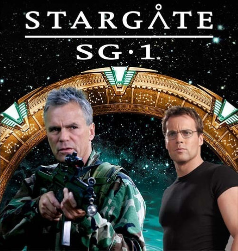 Imagem 1 de 3 de Stargate Sg-1  Completa / 1ª A 10ª Temporadas