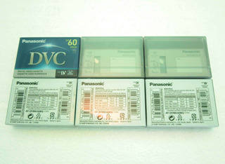Cinta De Video Cassette Panasonic Dvc Mini Dv Filmadora