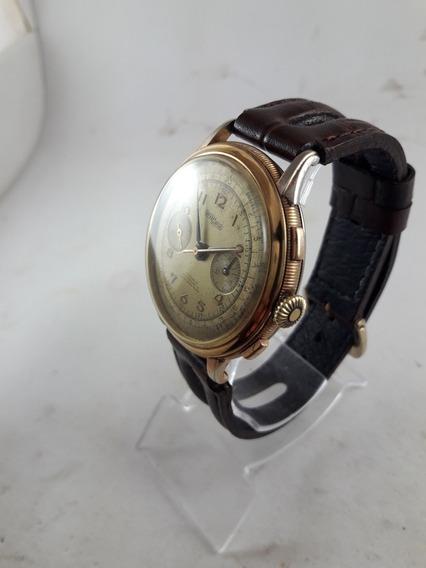 Relógio Cronografo Nicolet Watch Tramelan Suíço Vintage