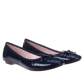 997a23546 Sapatilha Azul Marinho Com Laço Moleca - Sapatos no Mercado Livre Brasil