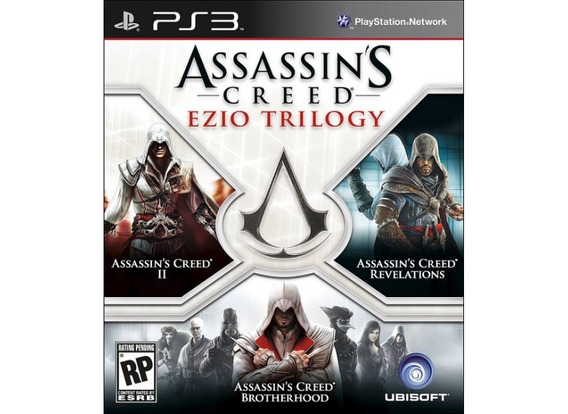Jogo Ps3- Assassins Creed Ezio Trilogy