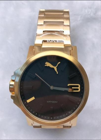 Relógio Puma + Caixa Couro