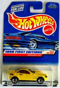 Mercedes Slk Hotwheels 1998 First Editions Nuevo