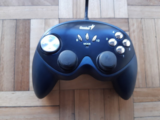 Gamepad Genius Maxfire G-12u Vibration Usb **exc Estado**