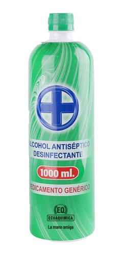Alcohol Litro 1000ml 71% Líquido Ecuaquimica Original