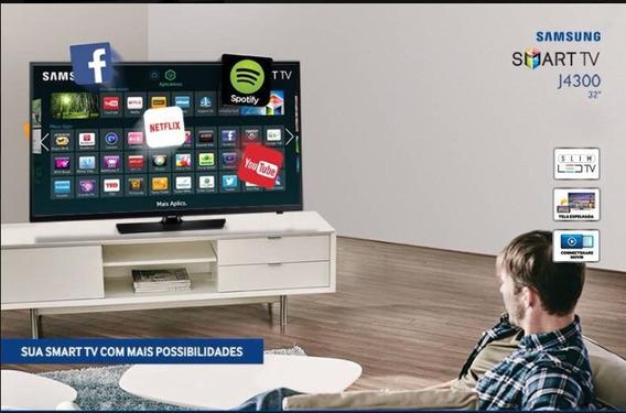 Smarttv 32 Samsung Conversor Digital - Wi Fi J4300