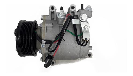 Compressor Honda New Civic Accord Cr-v Trse07 7p