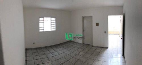 Imagem 1 de 11 de Casa Com 1 Dormitório Para Alugar, 50 M² Por R$ 1.050/mês - Parque Peruche - São Paulo/sp - Ca0618